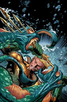 AQUAMAN #32 Written by JEFF PARKER Art and cover by PAUL PELLETIER and SEAN PARSONS DC Collectibles Bombshells variant cover by ANT LUCIA On sale JUNE 25 • 32 pg, FC, $2.99 US • RATED T Retailers: This issue will ship with two covers. Please see the order form for details. Aquaman thought his battles against ancient Greek monsters and the powerful Swamp Thing were as macabre as life could get… but he'll see how wrong he was when the hideous Chimera attacks!
