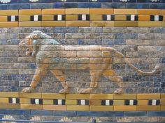 Pergamon Museum Lion @ Berlin