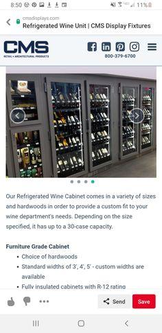 Beverage Refrigerator, Wine Cabinets, Hardwood, The Unit, Furniture, Natural Wood, Home Furnishings, Hardwood Floor, Solid Wood