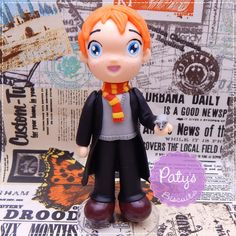 Miniatura Rony Weasley (Harry Potter) - Paty's Biscuit