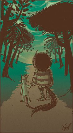 Where The Wild Things Are Tribute | Abduzeedo Design Inspiration