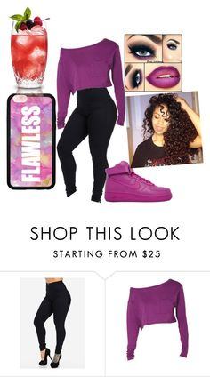 """""""Untitled #491"""" by skittlesforever123 ❤ liked on Polyvore featuring NIKE and Forever 21"""