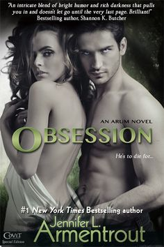 My book review for Obsession.  Hyper Ashley: Obsession by Jennifer L. Armentrout