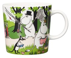 Going on vacation – Arabia's Moomin mug for summer 2018 leads to an adventure - Moomin : Moomin