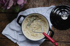 petite kitchen: the best garlic cauliflower mash