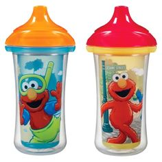 Sesame Street Click Lock Insulated Sippy Cup (2 Pack)