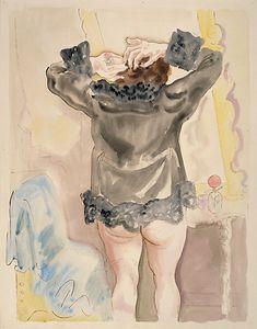 George Grosz • Toilette, 1927