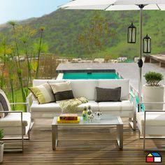 Juego Creta de alumnio brush de textileno #Terraza #Jardin Outdoor Furniture Sets, Decor, Furniture, Outdoor Decor, Outdoor Sectional Sofa, Home, Outdoor Furniture, Outdoor Sofa, Furniture Sets