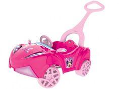 Carro Infantil Disney Minnie com Empurrador - Xalingo com as melhores condições você encontra no Magazine Raimundogarcia. Confira!