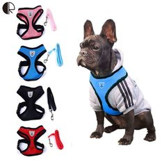 Lovely Cute Small dog Harness Pet Collar Supplies Chihuahua Dog Leash Lead Set Perro Honden Pet Shop Pet Harness Dog Harness