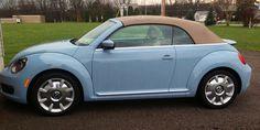 My new 2013 Beetle Convertible. Denim blue.