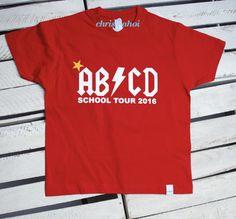 *DAS T-Shirt für die Einschulung und das erste Schuljahr in Gr.118/128 *rot** Der Tag der Einschulung ist ein ganz besonders aufregender Tag! Um diesen Tag noch besonderer zu machen gibt es...