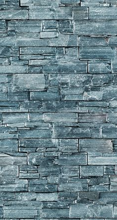 Grey Stone Wall   Great Half Wall For Foyer