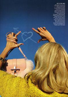 Anja Rubik by Alex Prager for Vogue US