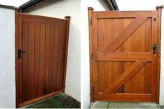 wood garden gate designs side wooden garden gate diy