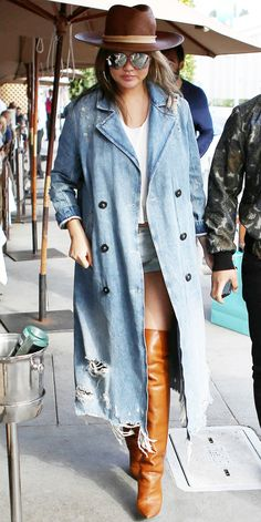 Look of the Day - Chrissy Teigen from InStyle.com