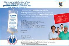 Apollo Bramwell Nursing School - Enrol now ! Diploma in General Nursing April 2015 Intake. Info: 605 1080