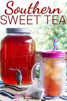 Southern Sweet Iced Tea Recipe