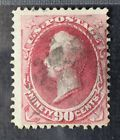 CKStamps: US Stamps Collection Scott#144 90c Perry Used Tiny Tear Thin CV$2500