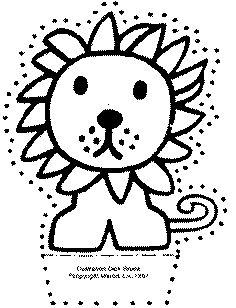 stappenplan leeuw tekenen leren tekenen