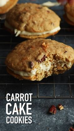 Learn how to make these super easy Carrot Cake Cookies. Carrot Cake Cookies by Also The Crumbs Please Learn how to make these super easy Carrot Cake Cookies. Carrot Cake Cookies by Also The Crumbs Please Chocolate Chip Cookies, Easy Carrot Cake, Carrot Cake Cookies, Chocolate Cookie Recipes, Easy Cookie Recipes, Yummy Cookies, Dessert Recipes, Chocolate Chips, Carrot Cake Donut Recipe