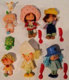 Strawberry Shortcake 1980's- I think I had ALL of these! :0)