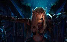 Women World of Warcraft | Elf woman - World of Warcraft wallpaper #14834