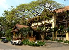 hotel (french colonial), Siem Reap Cambodia