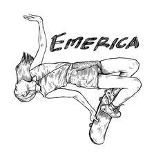 #3 design for Emerica. ibnupermana.2015