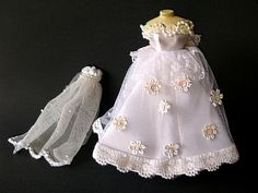 Vintage Miniature Doll House Mannequin on stand by BricsandBracs, $21.95