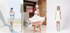 Die schönsten kurzen Brautkleider der Saison 2015: Fotos: Noni, Kuessdiebraut, Kisui.