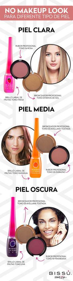 """¿Creías que para el """"no makeup look"""" no se necesitaba maquillaje? Pues te equivocas, aquí te dejamos unos tips para los diferentes tipos de piel. Nos encanta :) We Love :)"""