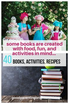 Here are 6 children's books about food, activities & recipes that create a memory-building experiences with your children. Science Activities For Kids, Preschool Lessons, Food Science, Best Children Books, Childrens Books, Music And The Brain, Parenting Books, Parenting Tips, Essential Oils For Kids
