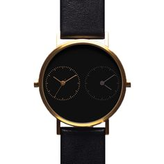 Kitmen Keung Watch – Long Distance 1.0 – Black/Gold