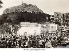 Etymologically according to Artemidorus, the word Lycabettus refers to the Greek word for twilight (Lyki). According to Greek mytholo. Greece Pictures, Old Pictures, Old Photos, Vintage Photos, Athena Goddess, As Time Goes By, Acropolis, Athens Greece, Street View