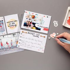 Memories in the Making Project Life Accessory Pack by Stampin' Up! Project Life Planner, Project Life 6x8, Project Life Cards, Card Making Inspiration, Life Inspiration, Life Journal, Bullet Journal, Pocket Scrapbooking, Coordinating Colors