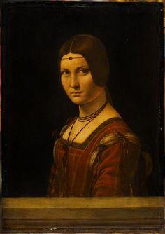 Léonard de Vinci   La Belle Ferronnière   Images d'Art