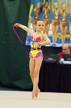 Etsy の Competition Rhythmic Gymnastics Leotard by Savalia