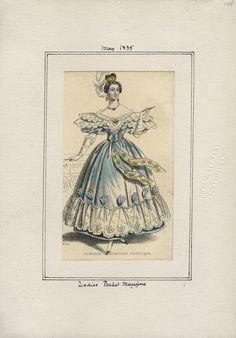Ladies' Pocket Magazine v. 16, plate 135 May, 1835