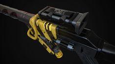Fallout Weapons, Fallout New Vegas, Futuristic Art, Retro Futurism, Concept Art, Engineering, Guns, Artwork, Steam Punk