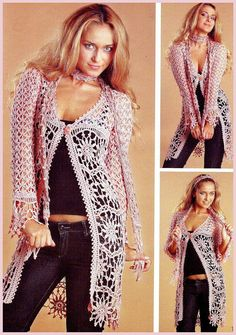 crochet lace jackets for ladies | make handmade, crochet, craft