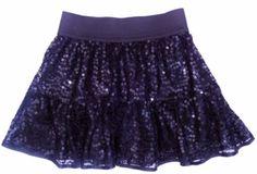 Next-Girls-Black-Sequin-Tutu-Skirt-Elastic-Waistband-Party-Christmas-4-5years
