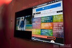 Sharp throws split-screen web browsing on its Smart TVs (hands-on)