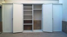 13 Ideas De Aluminum Storage Armarios Frentes De Armario Puertas De Closet