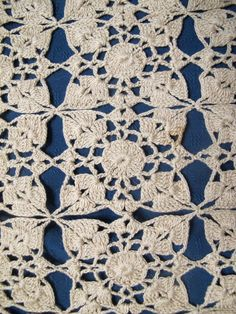 Shop for on Etsy, the place to express your creativity through the buying and selling of handmade and vintage goods. Crochet Table Mat, Crochet Tablecloth, Crochet Doilies, Place Mats, Beige, Quilts, Blanket, Unique Jewelry, Handmade Gifts