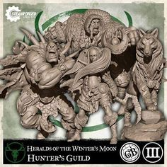 Steam Forge Games - GuildBall: Hunter: Heralds of the Winter's Moon (Season 2) #STFB03-007 [5060453691830]