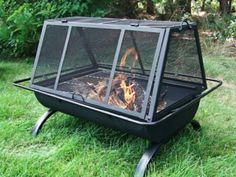 Outdoor Northland Campfire Fire Pit Cooking Grill Fireside Tool Cover Firepit