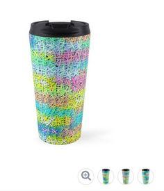 Coffee Lovers, Coffee Shop, Cool Items, Carousel, Travel Mug, Beautiful Things, Joy, Colorful, Group