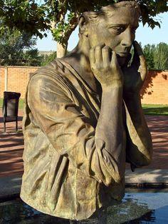 Escultura de Julio López Hernández