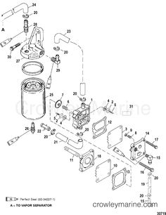 electrical components bayliner force 50 hp electrical componentsMercury Outboard Fuel Pump Diagram #17